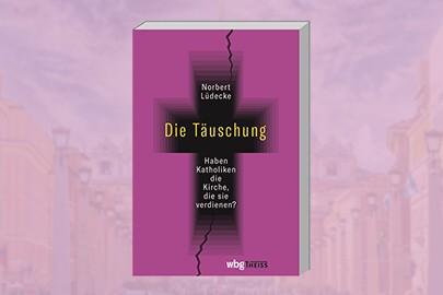"""Norbert Lüdecke stellt sein Buch """"Die Täuschung"""" auf der Frankfurter Buchmesse vor"""