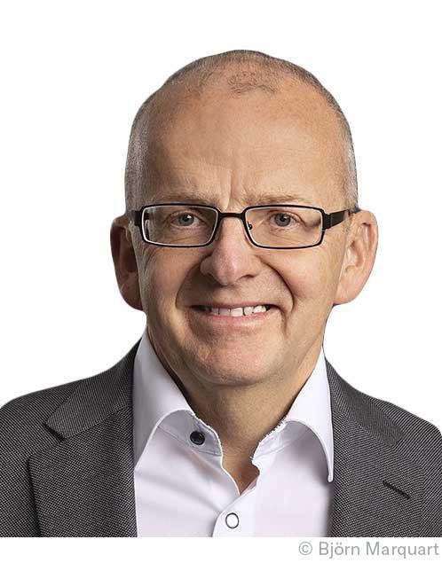 Verlagsleiter Dr. Clemens Heucke